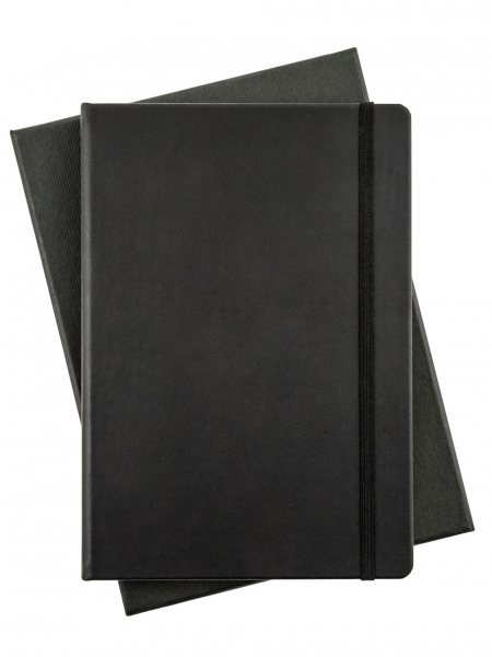 Genuine Leather Black Leuchtturm Notebook Ruled