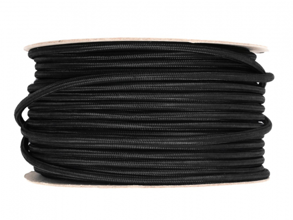 Round Fabric Lighting Cable 3 Core