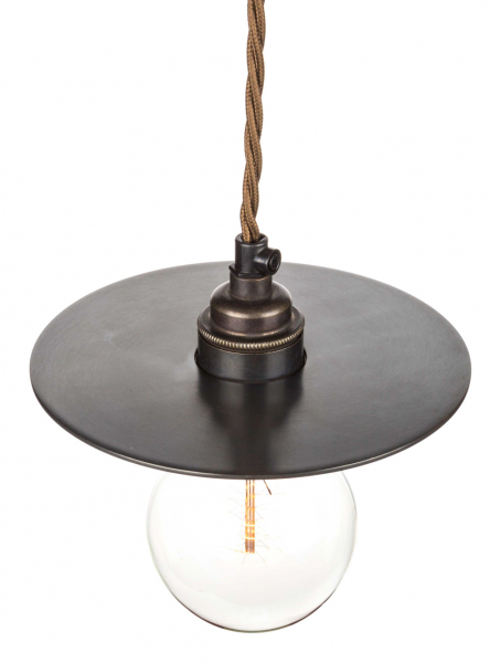 Bronze Disc Lamp Shade | 158mm