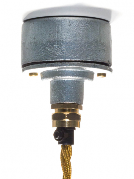 Cable Gland Lighting Pattress Type 4 Galvanised & Black