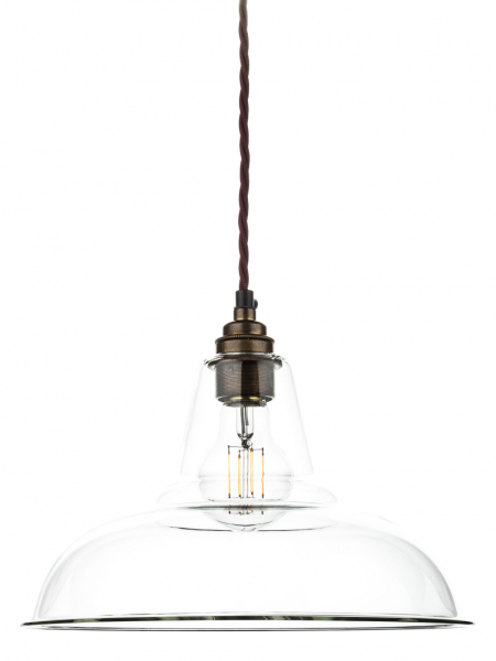 Clear Glass Coolicon Lamp Shade | 280mm