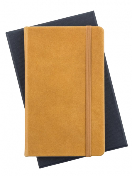 Genuine Leather Cognac Leuchtturm Pocket Notebook