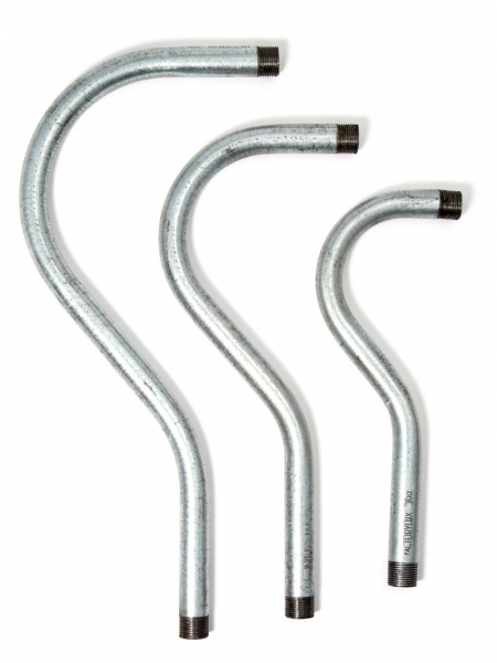 galvanised conduit swan neck tube
