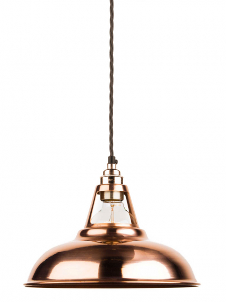 copper coolicon pendant light