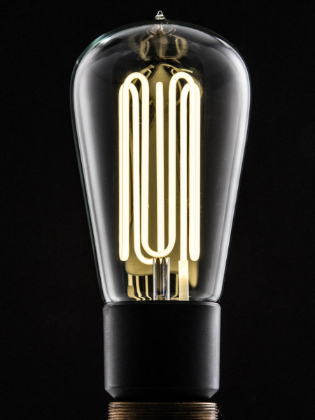 Pear Shape Eco-Filament Bulbs E27 & B22