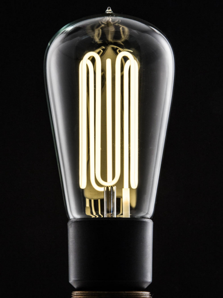 Pear Shape Eco-Filament Bulb | B22 Bayonet