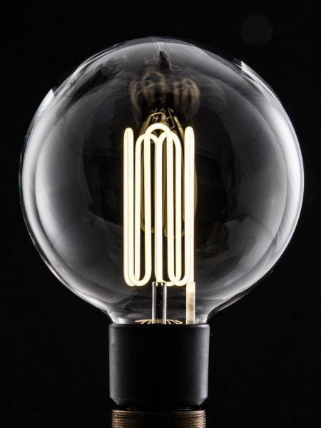 Large Globe Eco-Filament Light Bulb E27 Screw