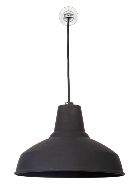 FACTORYLUX REFLECTOR Large Black Pendant Light