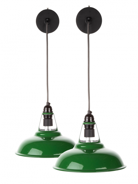FACTORYLUX COOLICON Green Pendant Light