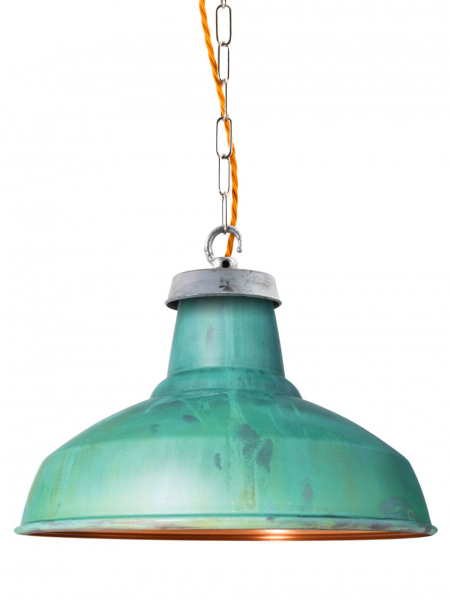 Verdigris Industrial Lamp Shade | 360mm