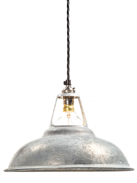 Galvanised Coolicon Lamp Shade | 280mm | B22