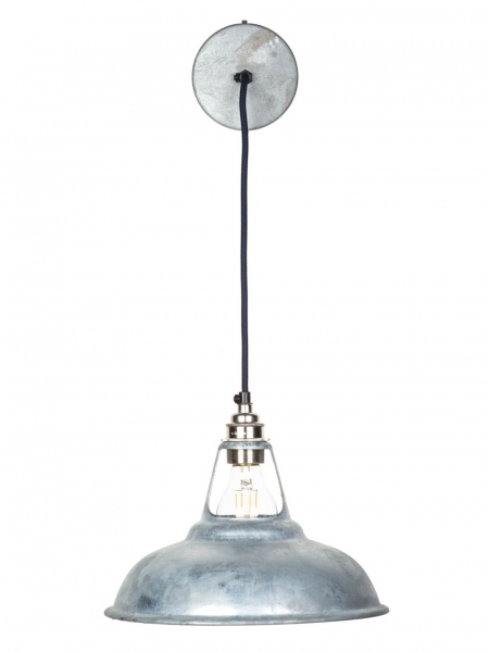 galvanised coolicon pendant