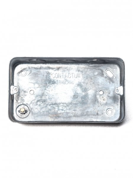 Galvanised Double Surface Back Box