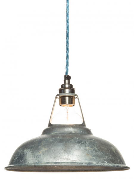 Galvanised Coolicon Lamp Shade