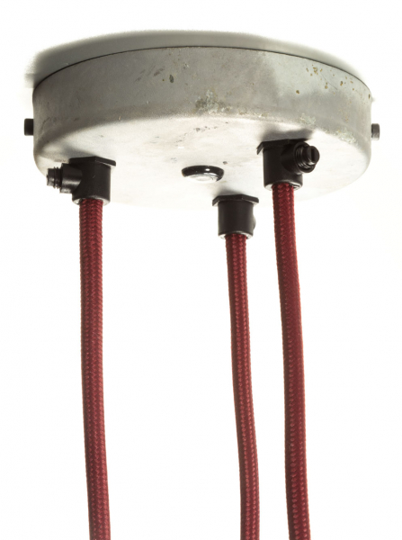 Multiple Outlet Ceiling Rose Galvanised