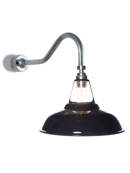 Coolicon Swan Neck | Wall Light Gloss Black