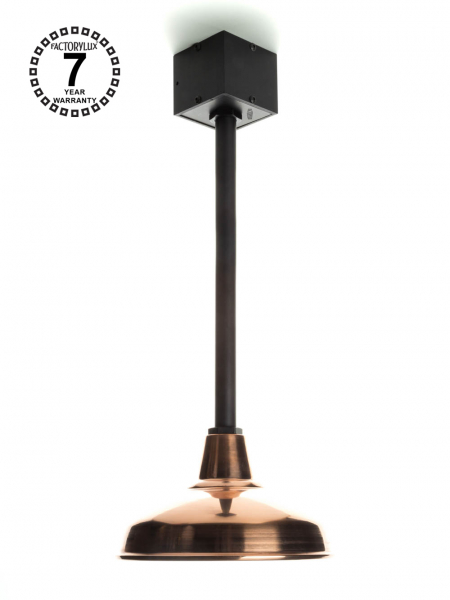 GoOutside™ Pendant Light Black Aluminium Copper Shade