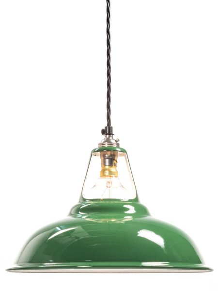 Green Enamel Coolicon Lamp Shade