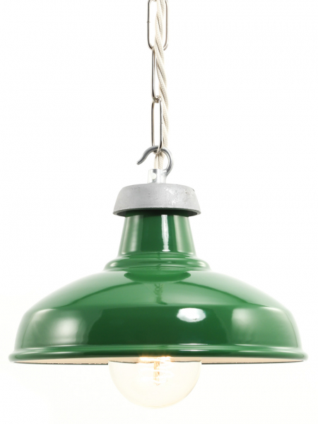 190mm Green Enamel shade