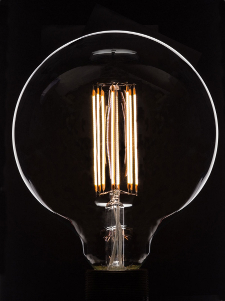 Large Globe LED-Filament Bulb | E27 B22 | Low energy