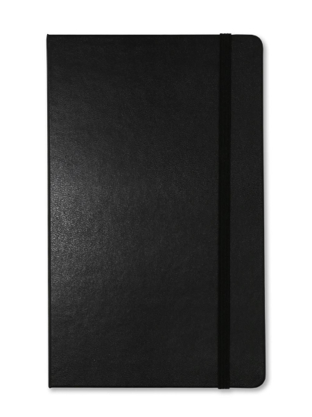 Black Large Dotted Moleskine, personalised