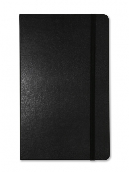 Black Large Moleskine Notebook | Plain