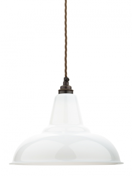 Opal Glass Coolicon Lamp Shade | 280mm