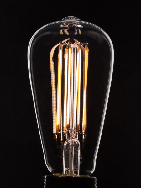 Pear Shape Filament LED Light Bulb