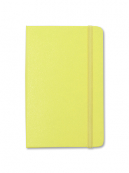 Citron Yellow Pocket Moleskine Notebook