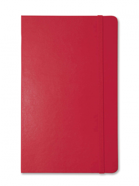 Red Large Moleskine Notebook Plain