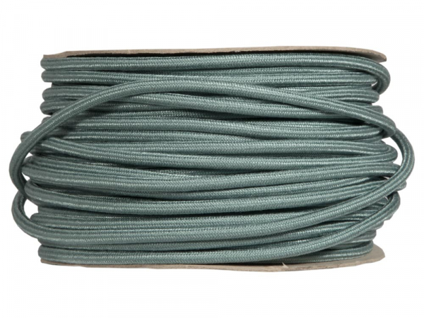 Sage Green Round Fabric Lighting Cable | 3 Core