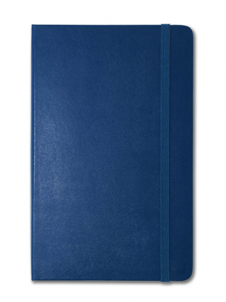 Sapphire Blue Large Moleskine Notebook | Ruled | Personalised