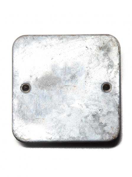 Galvanised Single Blanking Plate