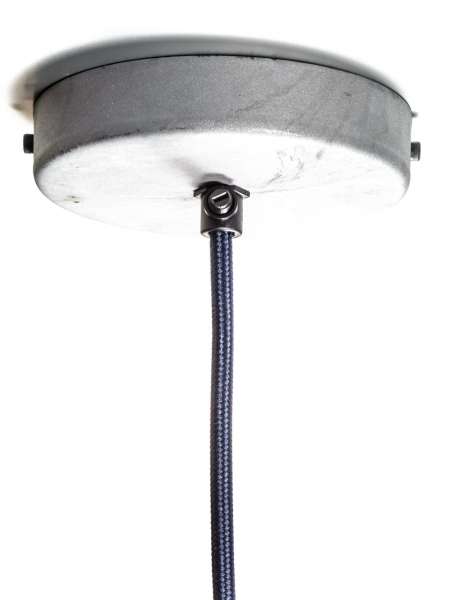 Single Outlet Ceiling Rose Galvanised