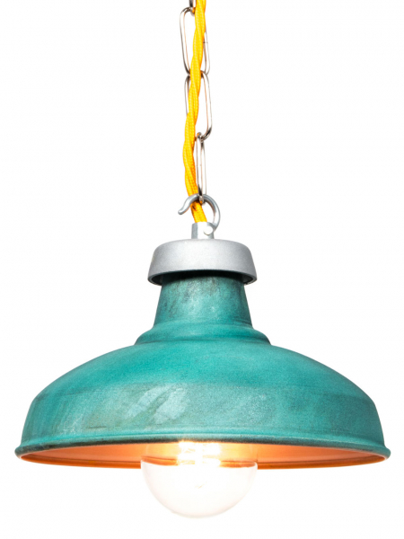 Verdigris Kitchen Lamp Shade 190mm