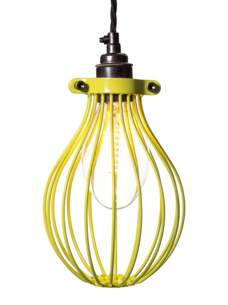yellow Bulb Guard Wire Balloon Cage