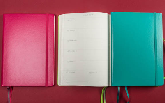 Leuchtturm Diary Week with notes