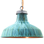 verdigris light fixtures and fittings